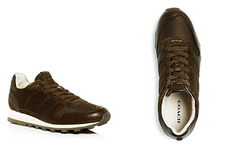 COACH Men's C118 Lace Up Sneakers - Bloomingdale's_2