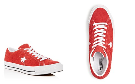 Converse Men's One Star Textured Suede Lace Up Sneakers - Bloomingdale's_2