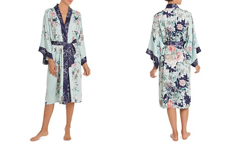 In Bloom by Jonquil Floral Kimono Wrap Robe - Bloomingdale's_2