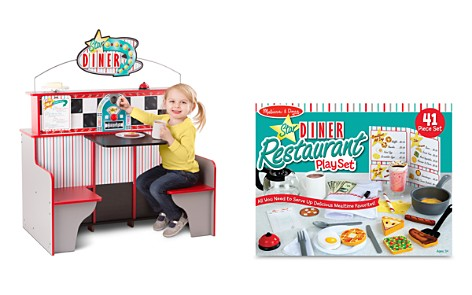 Melissa & Doug Star Diner Restaurant & Play Set Accessories Bundle - Ages 3+ - Bloomingdale's_2