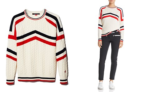 Perfect Moment Tignes Merino Wool Cable Sweater - Bloomingdale's_2