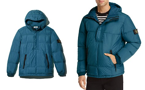 Stone Island Hooded Pullover Down Coat - 100% Exclusive - Bloomingdale's_2