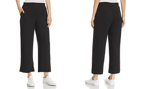 Three Dots All-Weather Cropped Twill Pants - Bloomingdale's_2