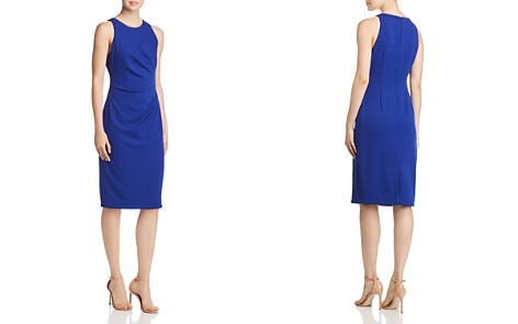 Adrianna Papell Draped Crepe Dress - Bloomingdale's_2
