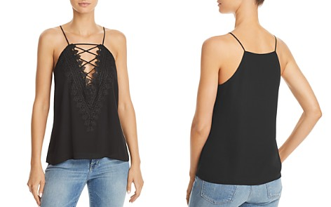 WAYF Posie Lace-Up Camisole - Bloomingdale's_2