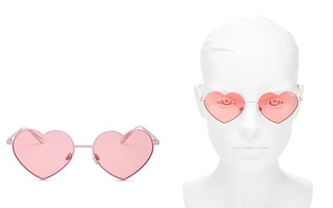 Quay Women's Heart Breaker Heart-Shaped Sunglasses, 53mm - Bloomingdale's_2