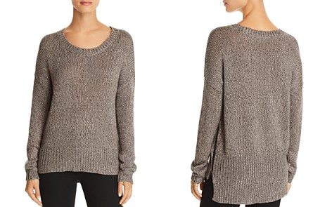 AQUA Side-Zip Sweater - 100% Exclusive - Bloomingdale's_2