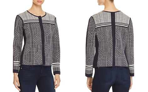 NIC and ZOE Forefront Jacquard Knit Jacket - Bloomingdale's_2