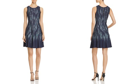 NIC and ZOE Lightening Streaks Fit-and-Flare Dress - Bloomingdale's_2