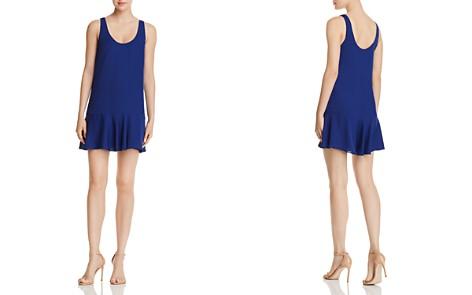 Amanda Uprichard Soren Flounced Mini Shift Dress - Bloomingdale's_2