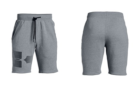 Under Armour Boys' Logo Graphic Fleece Shorts - Big Kid - Bloomingdale's_2