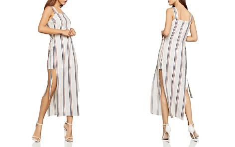 BCBGMAXAZRIA Side-Tie Striped Maxi Dress - Bloomingdale's_2
