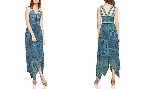 BCBGMAXAZRIA Tile Patchwork-Print Maxi Dress - Bloomingdale's_2