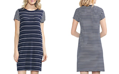 VINCE CAMUTO Mixed-Stripe T-Shirt Dress - Bloomingdale's_2