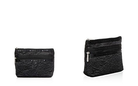 LeSportsac Taylor Small Floral-Embossed Cosmetics Case - Bloomingdale's_2