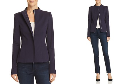 Theory Sculpted Knit Jacket - Bloomingdale's_2