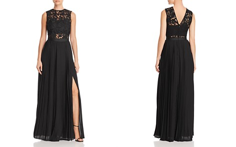AQUA Lace Bodice Gown - 100% Exclusive - Bloomingdale's_2