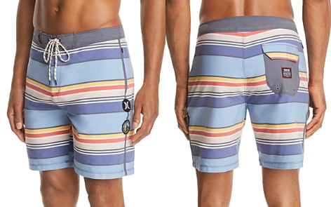 Hurley Yosemite Striped Board Shorts - Bloomingdale's_2
