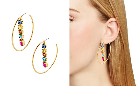 BAUBLEBAR Claudina Linear Drop Hoop Earrings - Bloomingdale's_2