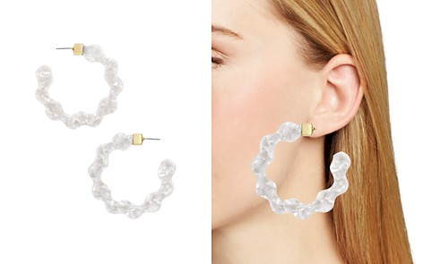 BAUBLEBAR Deena Resin Waved Hoop Earrings - Bloomingdale's_2