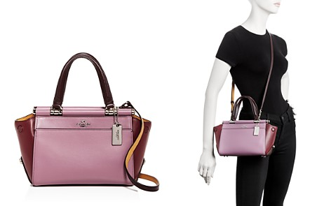 Coach Grace Color-Block Leather Satchel - Bloomingdale's_2