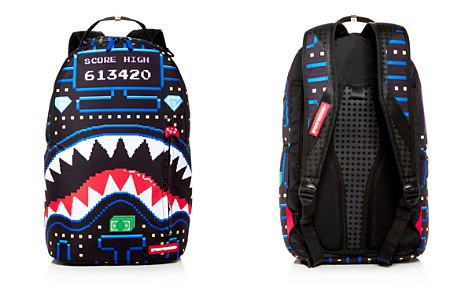 Sprayground Arcade Shark Backpack - Bloomingdale's_2