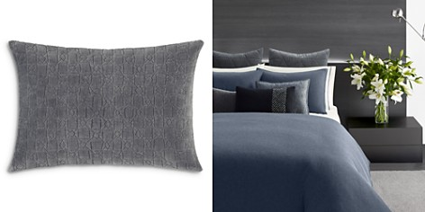 """Vera Wang Quilted Crinkle Decorative Pillow, 12"""" x 16"""" - Bloomingdale's_2"""
