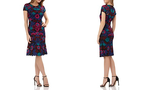 JS Collections Ribbon Embellished Dress - Bloomingdale's_2
