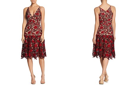 Dress the Population Lily Floral Lace Dress - Bloomingdale's_2