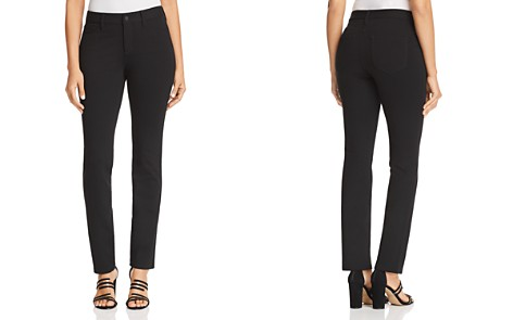 NYDJ Sheri Slim Ponte Jeans in Black - Bloomingdale's_2