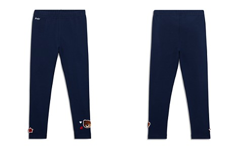Polo Ralph Lauren Girls' Jersey Leggings with Chenille Patches - Little Kid - Bloomingdale's_2