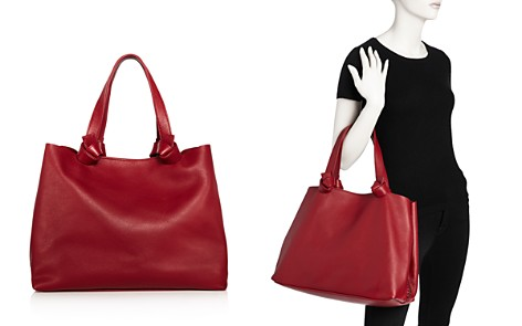Callista Iconic Knotted Medium Leather Tote - Bloomingdale's_2