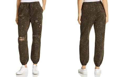 T by Alexander Wang Leopard-Printed Jogger Pants - Bloomingdale's_2