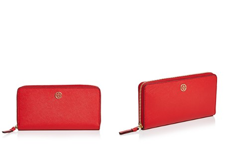 Tory Burch Robinson Zip Leather Continental Wallet - Bloomingdale's_2