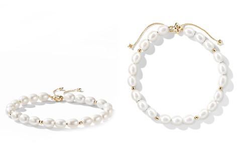 David Yurman Bijoux Spiritual Beads Bracelet with Pearls and 18K Gold - Bloomingdale's_2