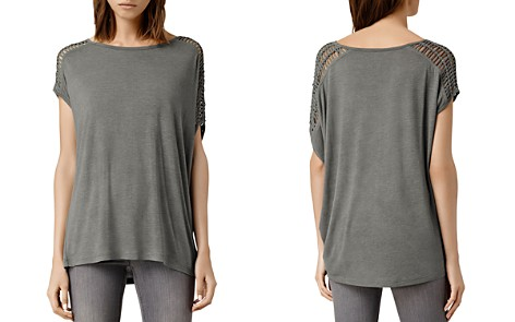 ALLSAINTS Simmo Draped Strappy Tee - Bloomingdale's_2