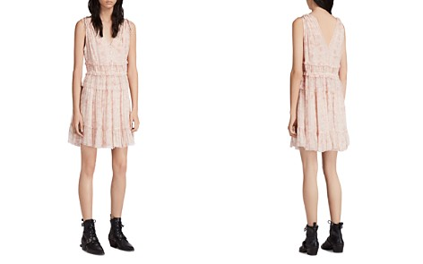 ALLSAINTS Annie Lanai Ruffled Floral Print Dress - Bloomingdale's_2