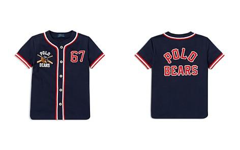 Polo Ralph Lauren Boys' Polo Bear Cotton Baseball Jersey -Little Kid - Bloomingdale's_2