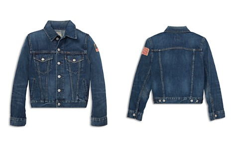 Polo Ralph Lauren Boys' Cotton Denim Trucker Jacket - Big Kid - Bloomingdale's_2