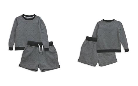 Sovereign Code Boys' Basketweave Print Sweatshirt & Sweatshorts Set - Baby - Bloomingdale's_2
