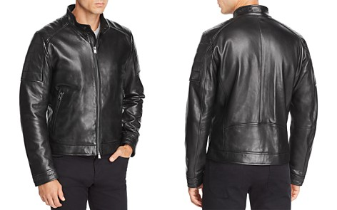 BOSS Getani Leather Jacket - Bloomingdale's_2