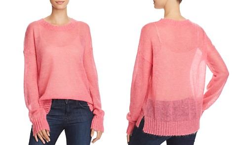 FRENCH CONNECTION Miri Sheer Knit Sweater - Bloomingdale's_2