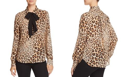 FRAME True Leopard Print Silk Blouse - Bloomingdale's_2