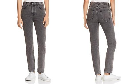 Current/Elliott The Vintage High-Rise Slim Straight-Leg Jeans in Faulkner - Bloomingdale's_2
