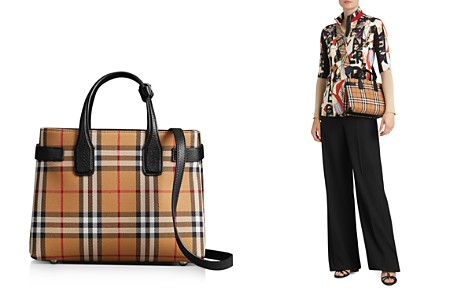 Burberry Vintage Check Small Banner Bag - Bloomingdale's_2
