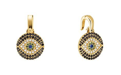 Michael Kors Custom Kors 14K Gold-Plated Sterling Silver Evil Eye Charm - Bloomingdale's_2