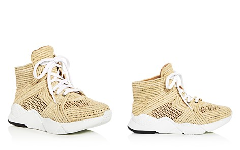 Robert Clergerie Women's Sybille Raffia High Top Platform Sneakers - Bloomingdale's_2