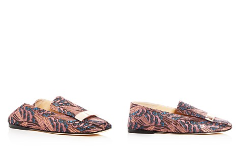 Sergio Rossi Women's Jacquard Loafers - Bloomingdale's_2