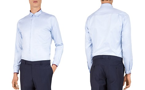 The Kooples Smart Twill Slim Fit Sport Shirt - Bloomingdale's_2