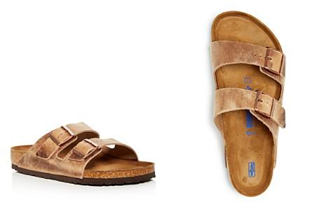 Birkenstock Men's Arizona Distressed Leather Slide Sandals - Bloomingdale's_2